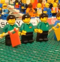 World Cup Stop Motion Made with Lego – USA vs. England