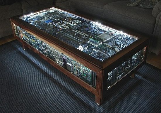 the coffee table any geek would love!