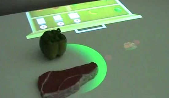 Kitchen Countertop That Knows What Food You Have & How To Cook It!