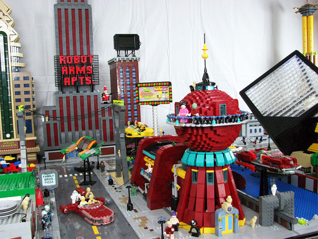 Futurama World – Now All In Lego!