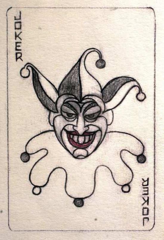 The First Ever Drawing Of Batman's Nemesis – The Joker