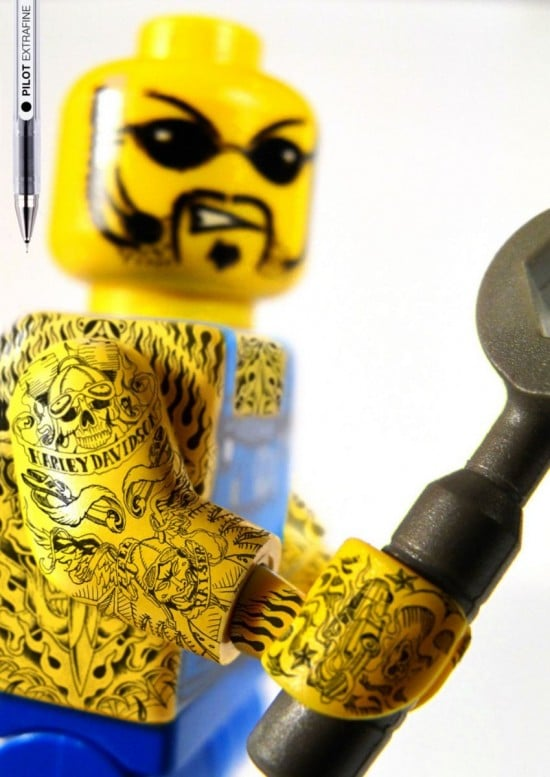 LEGO Goes Badass: The Plastic Figurines Now Have Tattoos!
