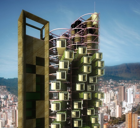 The High Rises Of Tomorrow Come In Prefabricated Blocks