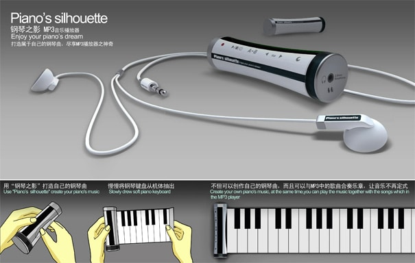 Rollout Piano Mp3 Player – The Future Of Portability Is Rad!