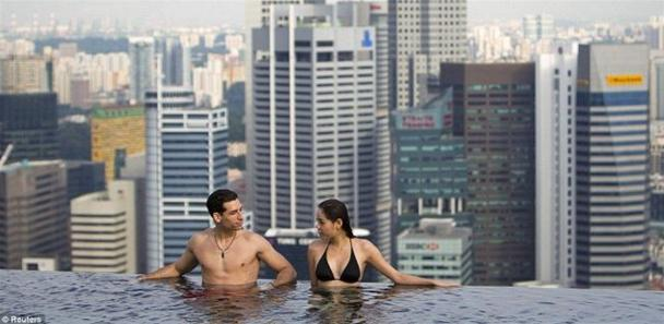 This Rooftop Pool Is A Deadly Swim!