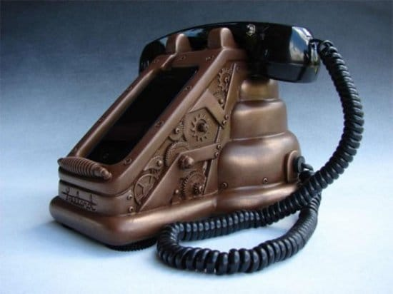 The Best iPhone Dock EVER – It's All Steampunk Of Course!