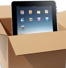 How To: Make An iPad Stand From Its Own Packing Materials