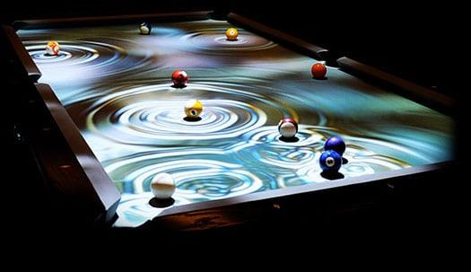 A Digitally Enhanced High Def Interactive Pool Table