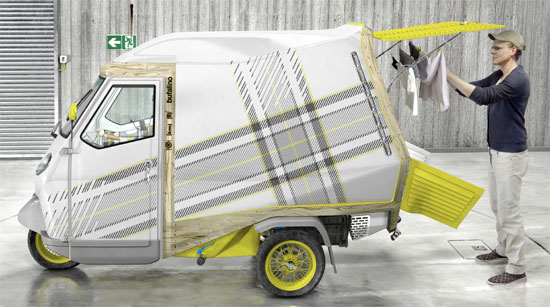 Apartment On Wheels: Smallest Living To Date!