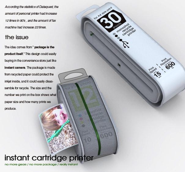 Disposable Printer: Good Or Bad Idea?