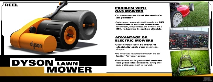 The NEW Electrical Dyson Lawn Mover Is Awesome!