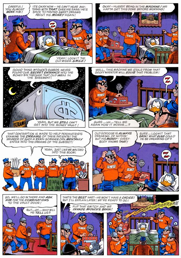 Is Inception A Rip Off Of A McDuck Comic?
