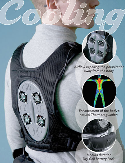 Keep Cool: New Active Personal Cooling System
