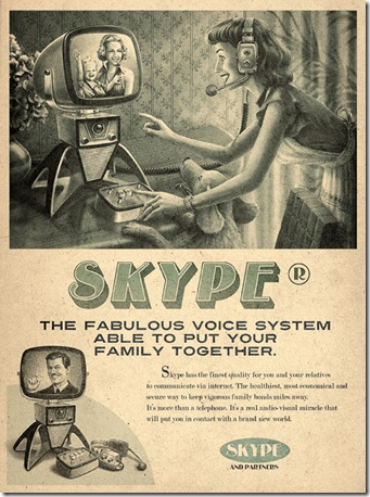 Brilliant Retro Ads To Promote Twitter, Facebook And More!