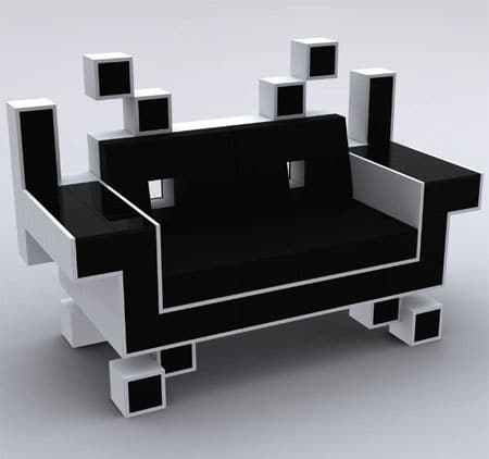 Space Invaders Couch: Gank The Invaders At Home!