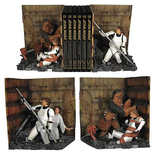 Star Wars: Death Star Trash Compactor Bookends!