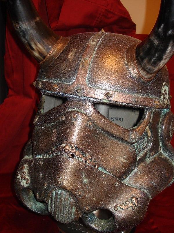 The Star Wars Storm Trooper Viking Helmet!