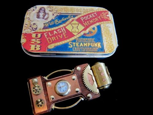 Steampunk: Amazing USB Drive From The Past