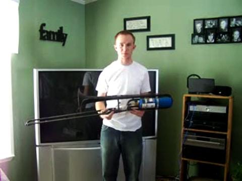 Weird Gadgets: Flame Throwing Trombone