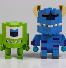 Mini Lego Dudes by PIXAR Animator Angus MacLane