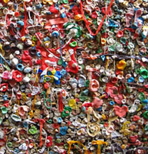 Seattle's Gum Wall: Disgustingly Creative Art!