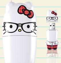 Introducing… Hello Kitty Nerd Mimobot Flash Drives!