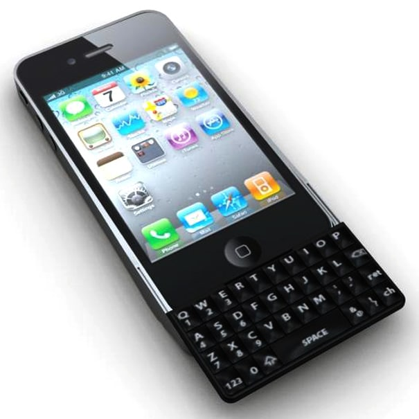 Finally A Real QWERTY Keyboard For The iPhone 4!   Bit Rebels
