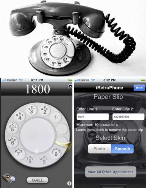 The iPhone App That Takes You Back To The 20th Century
