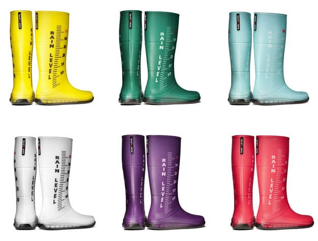 A Rainbow Of Rain Boots: Fashion Inspiration