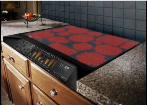 Electric Stove Top ~ A nifty new concept design for an electric stove top bit