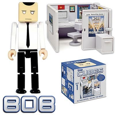The Cube – In This Office You're the Boss!