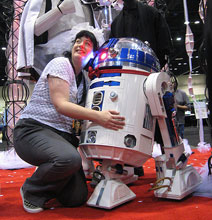 Woman Marries R2-D2 In Official Ceremony