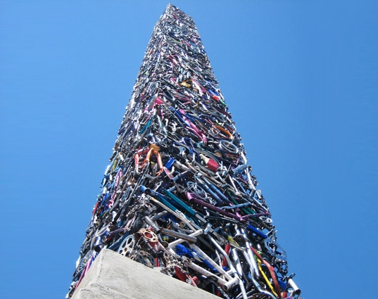 What Do You Do With 340 Bikes About To Be Recycled?