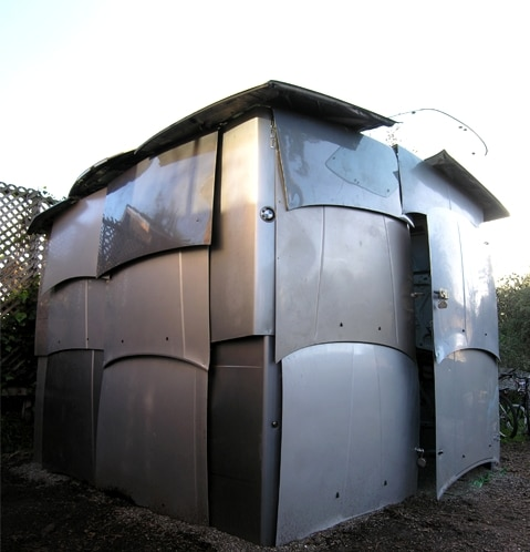 Car Part Shed: Used Car Parts Get A New Purpose
