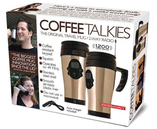 Coffee Talkies: Bring Your Java And Talk On It As Well!