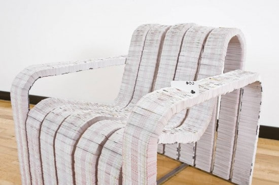 Card Deck Chair: When You're Tired Of Playing Poker