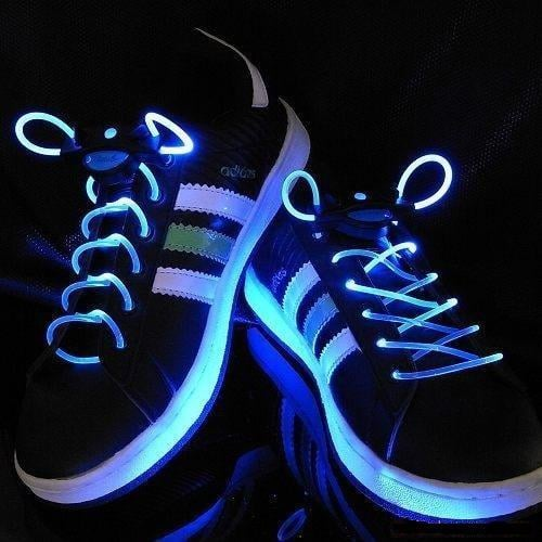 LED Shoe Laces: Bring The Light To The Club!