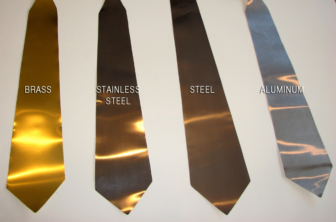 Metal Neckties: Are You A Silver Or A Gold Person?