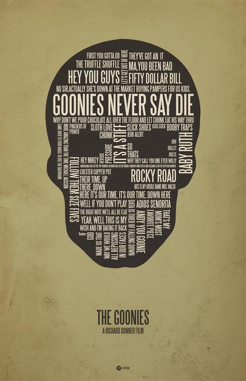 Typography movie quotes