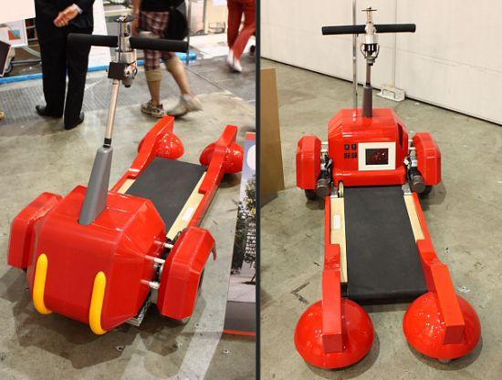 Tread-Walk: Brilliant or Stupid Invention?