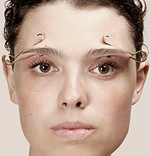 More Bizarre Face Distorting Jewelry