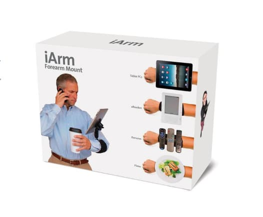 iArm: The New Way To Carry Your Apple Gear!