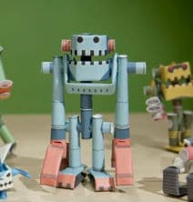Piperoid Paper Pipe Robots: Fun with Paper Tubes!