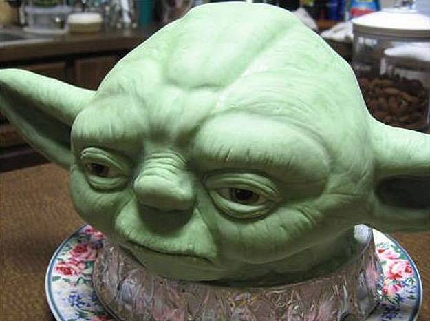 How To Make Yoda Ears For A Cake