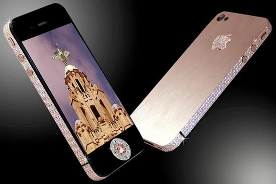 iPhone 4 Finally Bejeweled – Now Worth £5 Million!