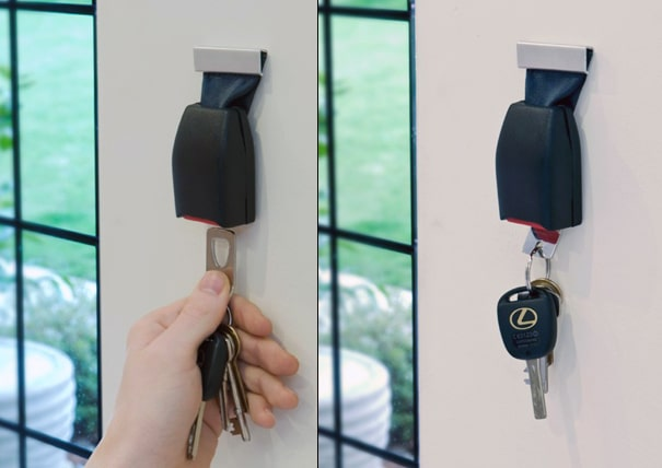 Buckle Up: Keep Track Of Your Keys The Geek Way!