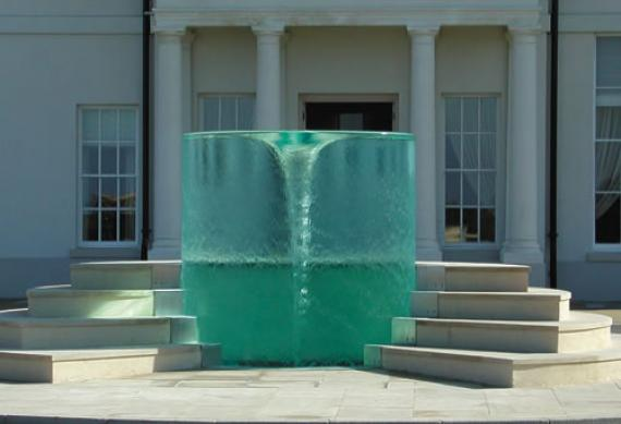 This Reversed Fountain Will Mess With Your Mind!