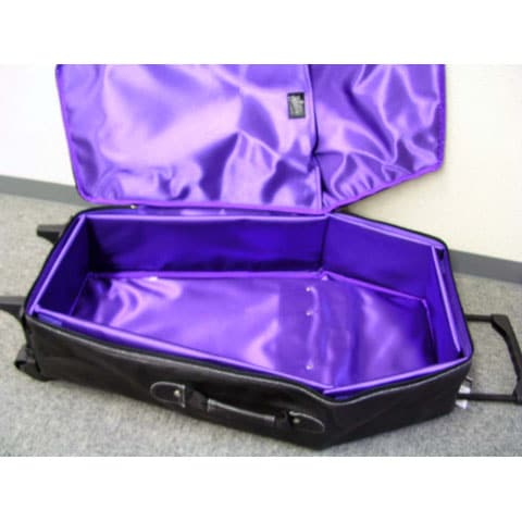 Travel With A Casket: The Rock'n Roll Way To Pack!