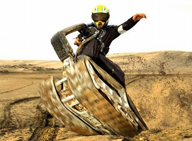 Forget The Segway! DTV Shredder Is WAY Cooler!