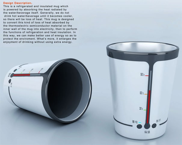 Intelligent Cup: Tells You When The Coffee Is Perfect For You!